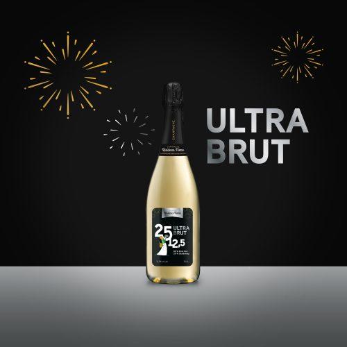 Ultra brut – 80% pinot noir – 20% chardonnay